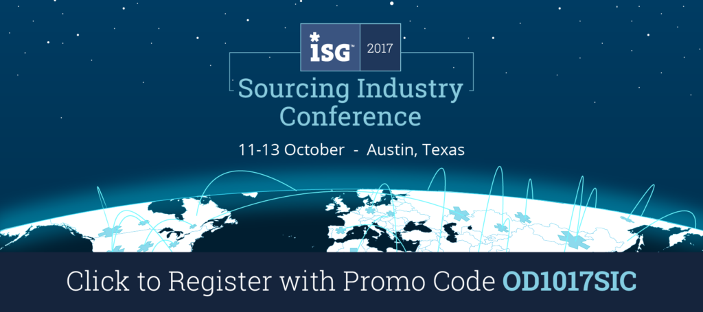 ISG Sourcing Industry Conference