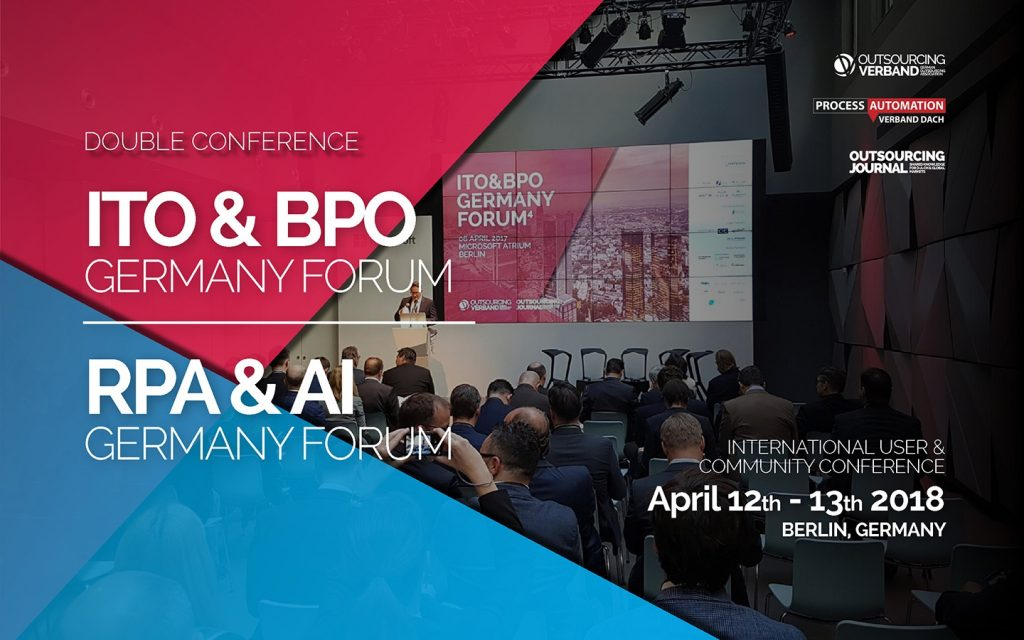 ITO&BPO + RPA&AI GERMANY FORUM 2018