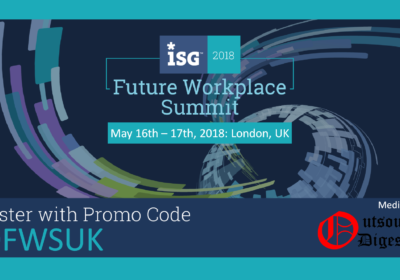 ISG Event Explores Digital Future of Work – Video
