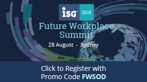 ISG FUTURE WORKPLACE SUMMIT ANZ