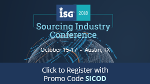 ISG Sourcing Industry Conference Austin